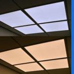 2 x 4 ledpanelen voor Human Centric Lighting, daglicht wit licht en warmwit licht , Tunable White