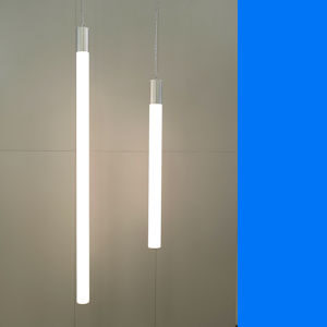 hanglamp buisverlichting, opaalbuis 100 mm, tube-lighting, rohrleuchte, led Tl-verlichting